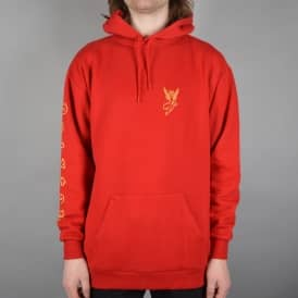 Temptress Pullover Hoodie - Red