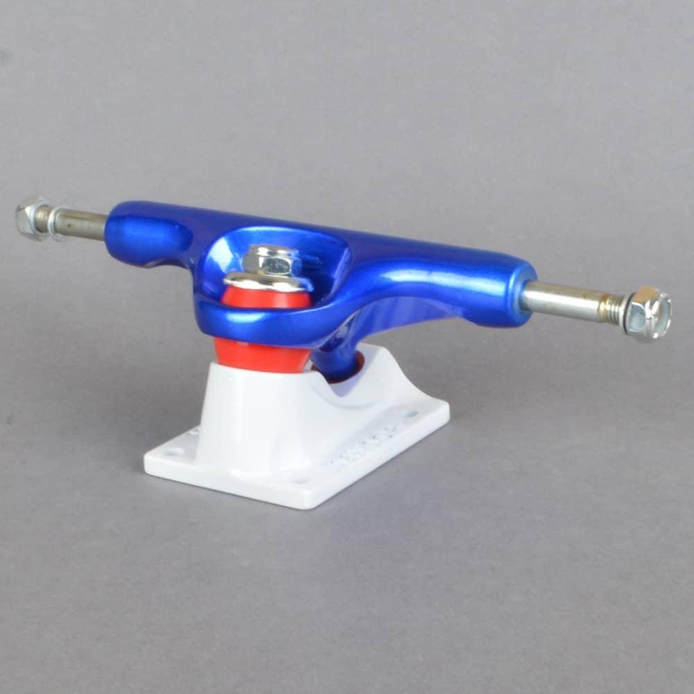 4e6f44233da317 Tensor Trucks Aluminium Regular Tens Flick Blue White Red Skateboard ...