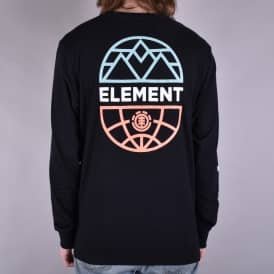 Terra Long Sleeve Skate T-Shirt - Flint Black