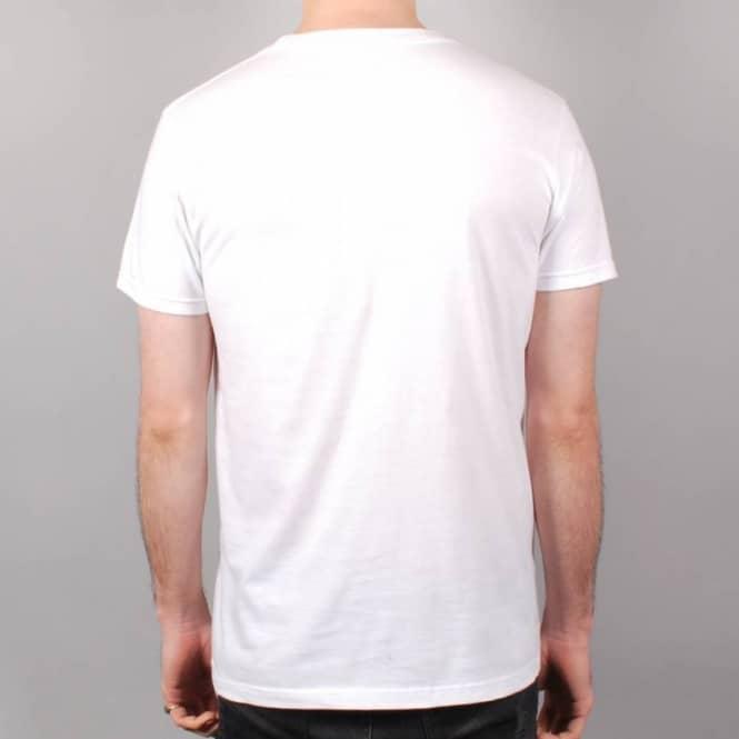 The Back Forty Wack Forty Skate T-Shirt - White - SKATE CLOTHING ...