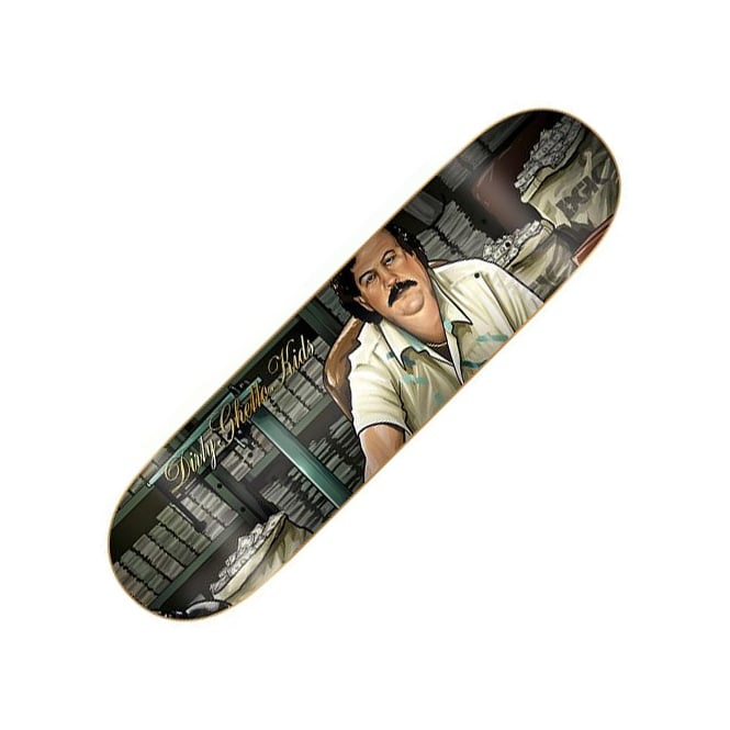 DGK The Boss Team Skateboard Deck 8.25