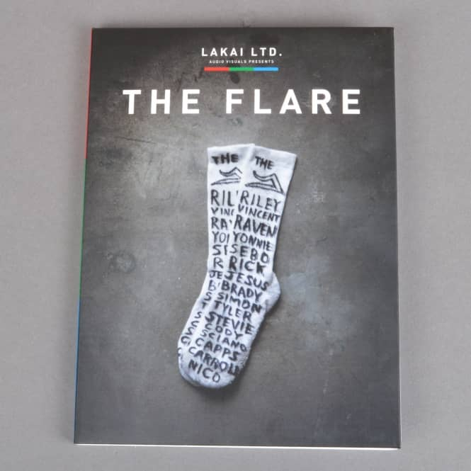 Lakai The Flare Skateboard DVD
