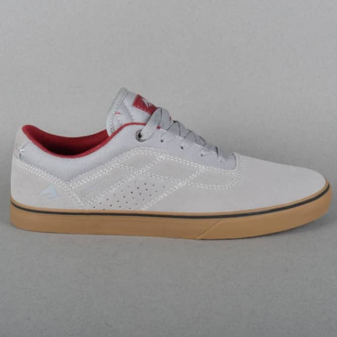 Emerica The Herman G6 Vulc Skate Shoes - Grey/Gum
