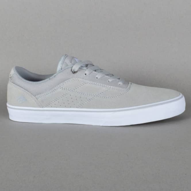 The Herman G6 Vulc Skate Shoes - Light Grey