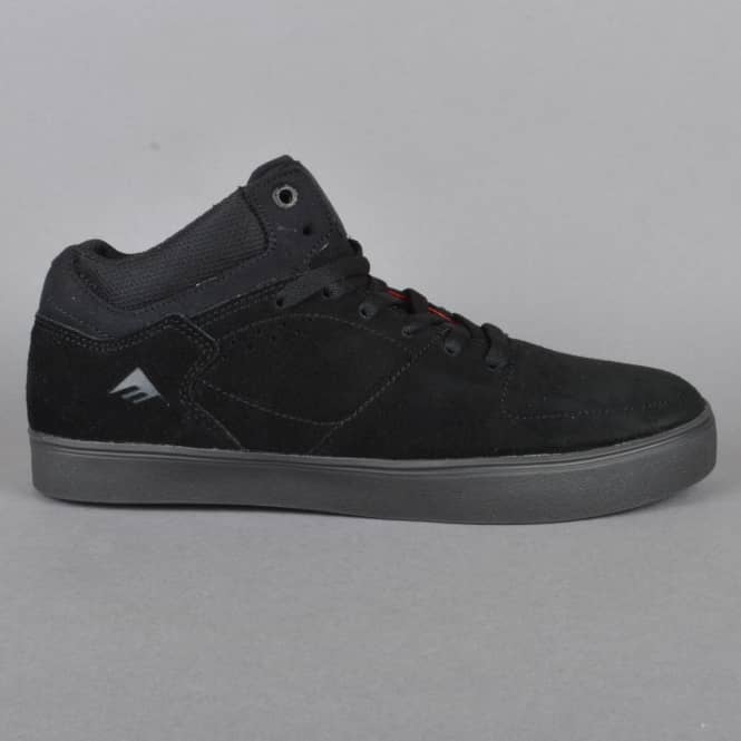 Emerica The Hsu G6 Skate Shoes - Black/Dark Grey