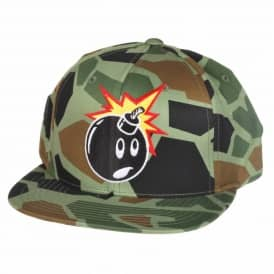 The Hundreds Adam Snapback Cap - Duck Camo