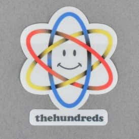 The Hundreds Atom Face Skateboard Sticker
