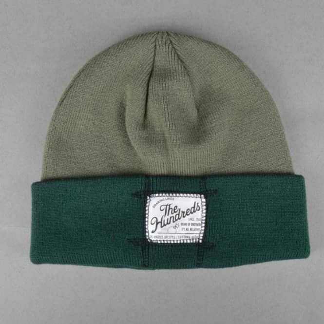 The Hundreds Council Beanie - Olive