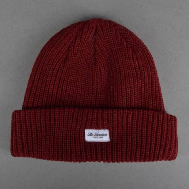 The Hundreds Crisp Beanie - Burgundy