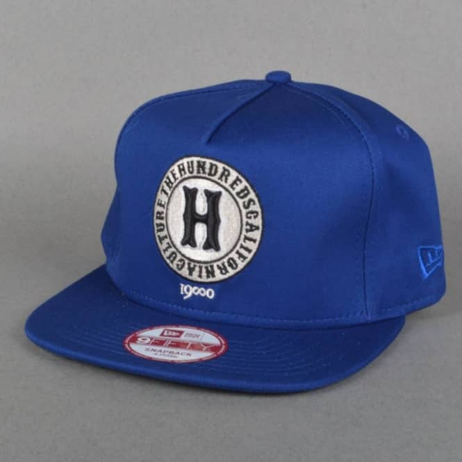 The Hundreds Early Snapback Cap - Blue