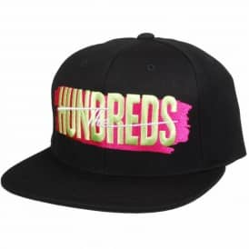 The Hundreds Hailmary Snapback Cap - Black