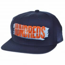 The Hundreds Hailmary Snapback Cap - Navy