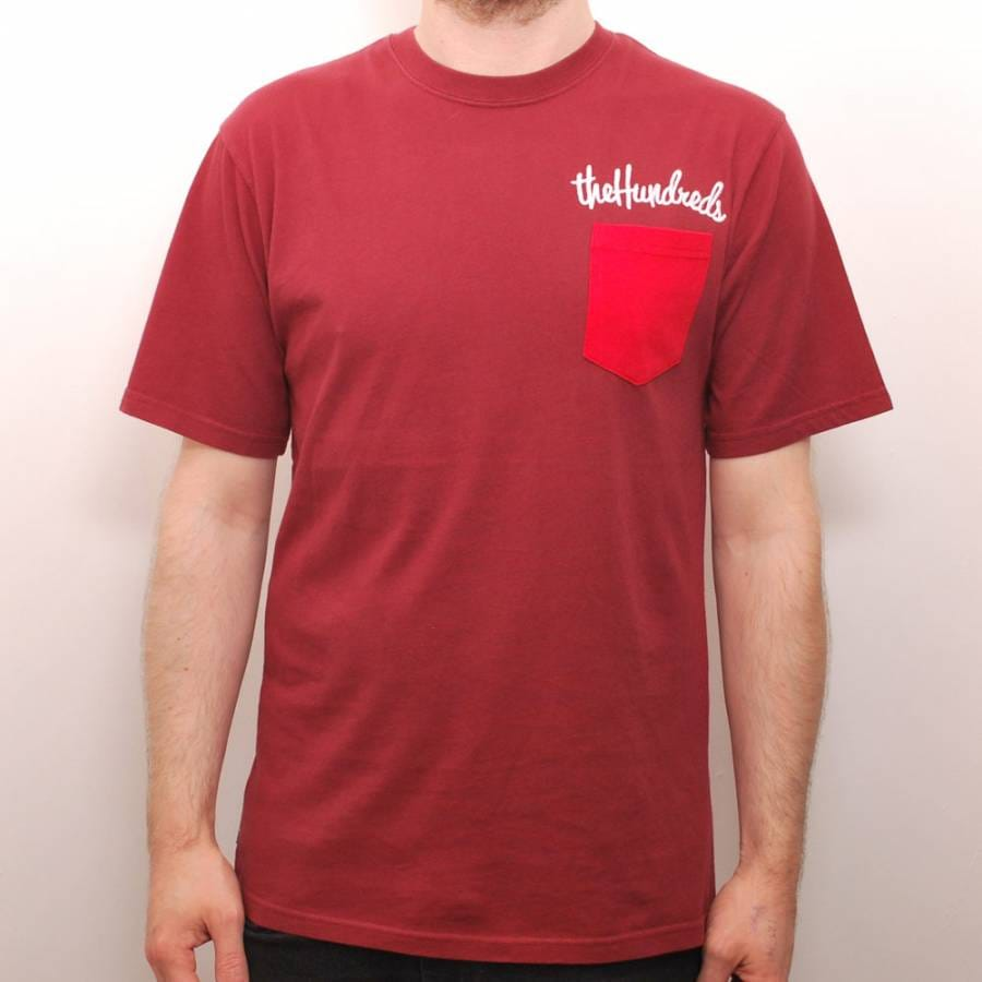 the hundreds the hundreds here custom pocket t shirt