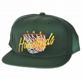 The Hundreds Hoops Snapback Cap - Dark Green