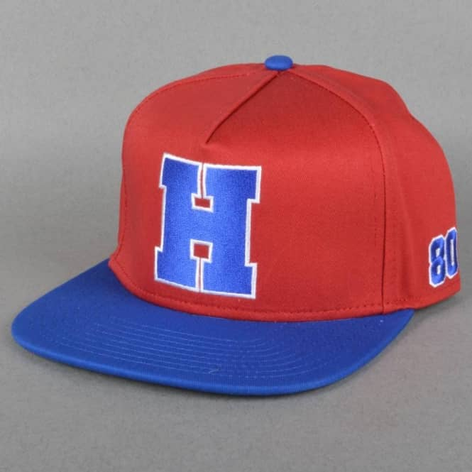 The Hundreds Match Strapback Cap - Red