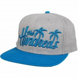 The Hundreds Palms Snapback Cap - Athletic Heather