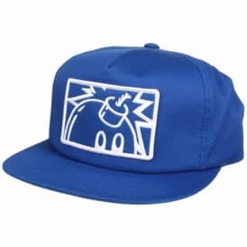 The Hundreds Patch Adam Snapback Cap - Blue
