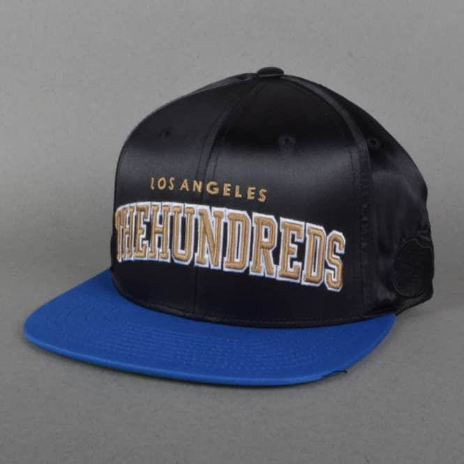 The Hundreds Player Snapback Cap - Black