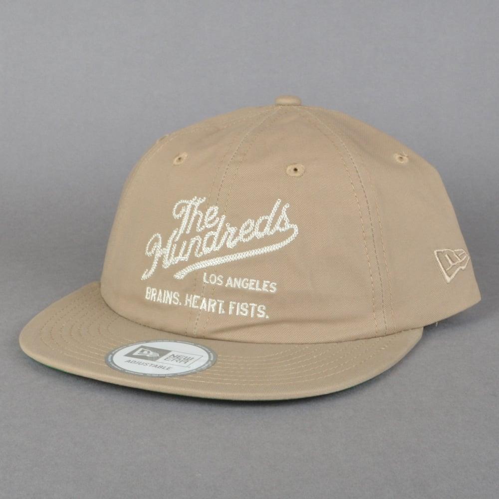 770df2da790 The Hundreds Sane New Era Strapback Cap - Khaki - SKATE CLOTHING ...