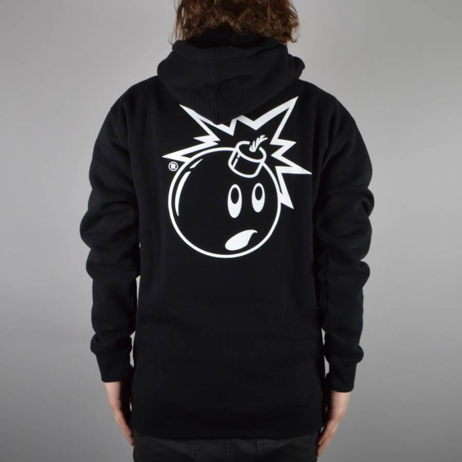The Hundreds Simple Adam Pullover Hoodie - Black - The Hundreds From Native Skate Store UK