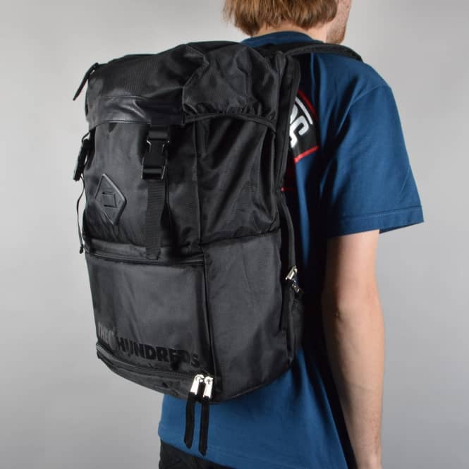 The Hundreds Steven Camera Backpack - Black