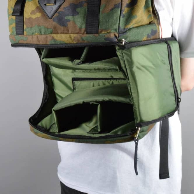 Steven Camera Backpack - Camo