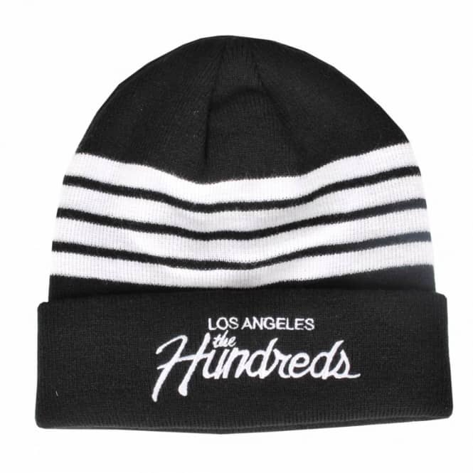 The Hundreds Team Beanie - Black - Beanies from Native Skate Store UK d5f175975ba