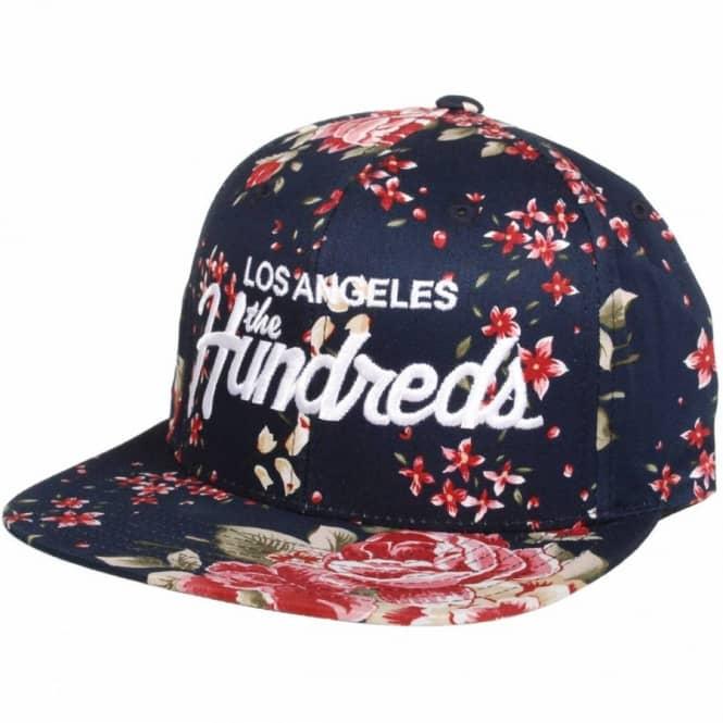 924095e1984 The Hundreds Team Snapback Cap - Black Floral - Caps from Native ...