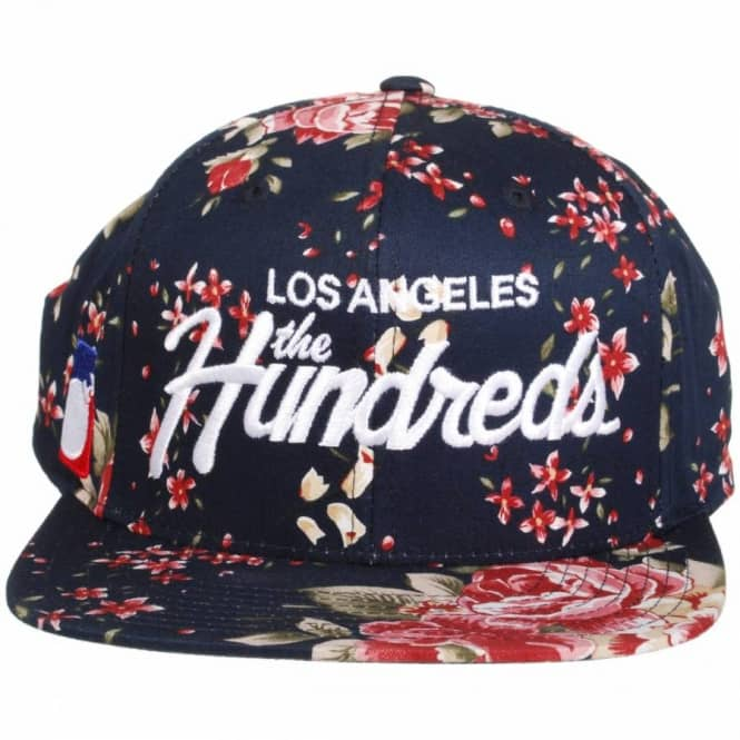 2985eaaff41 The Hundreds Team Snapback Cap - Black Floral - Caps from Native ...