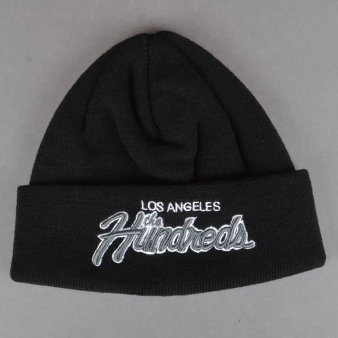 The Hundreds Team Two Beanie - Black