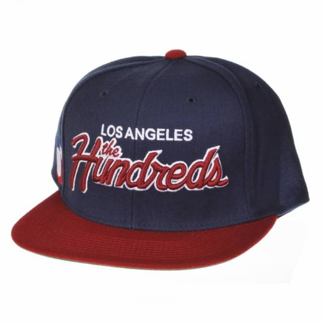 d77fa28044a The Hundreds Team Two Snapback Cap - Navy - Caps from Native Skate ...