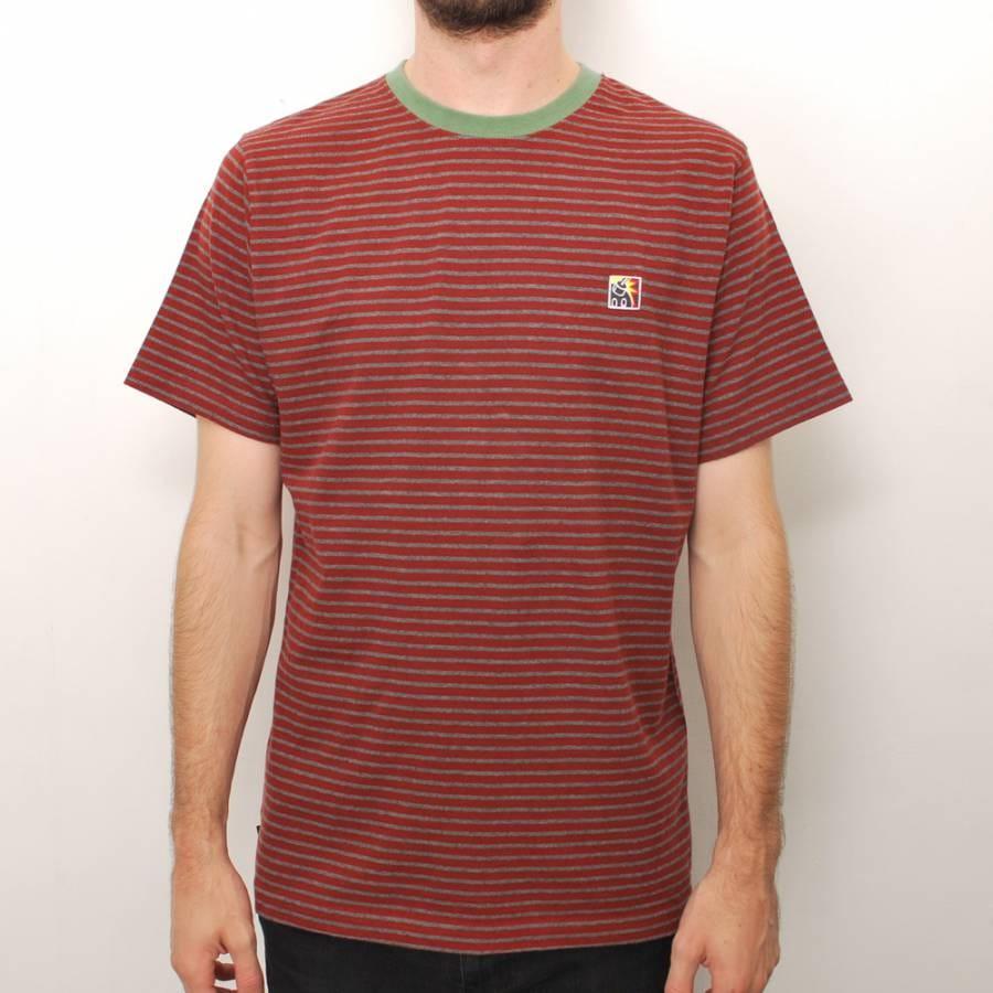 The hundreds the hundreds ramone custom t shirt maroon for Uk custom t shirts