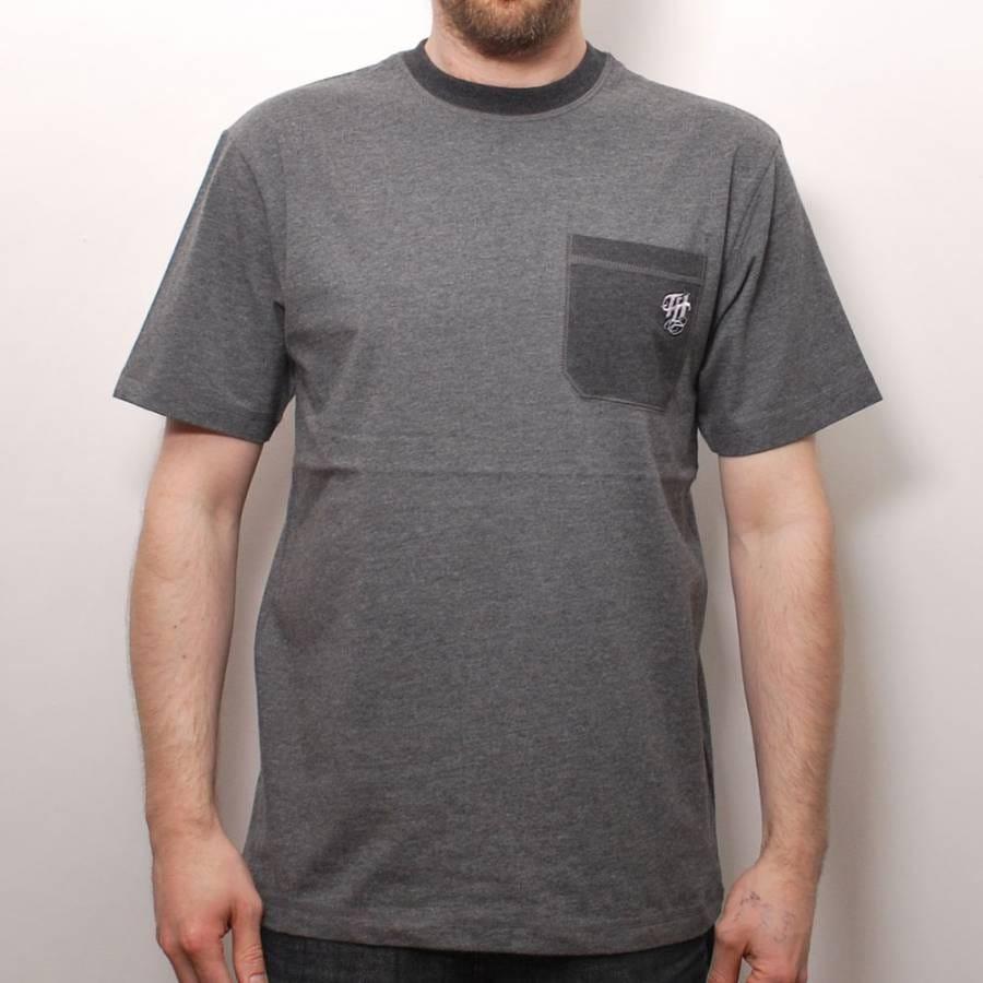 The hundreds the hundreds tone custom pocket t shirt for Custom t shirts with pockets