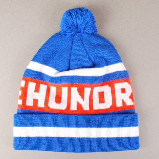 The Hundreds The Hundreds Win Pom Pom Beanie - Blue