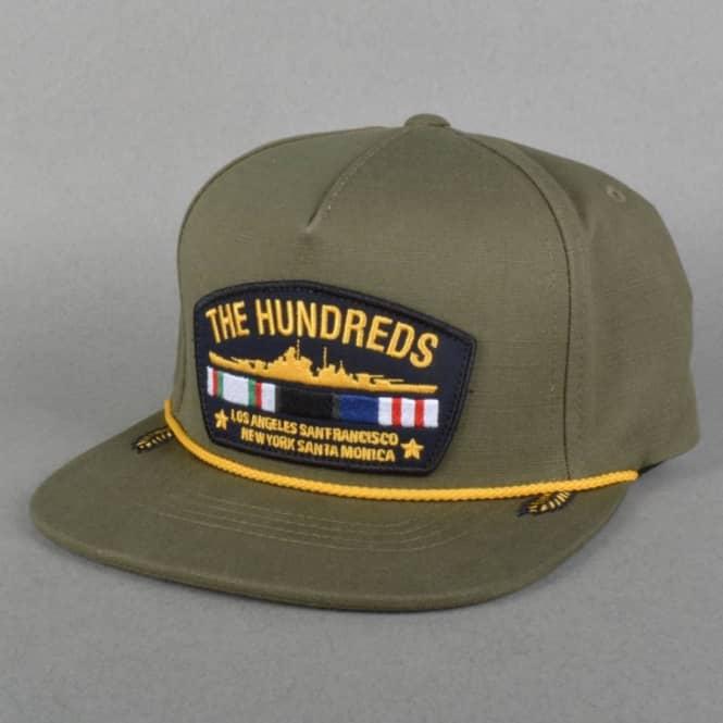 The Hundreds Veteran Snapback Cap - Olive - SKATE CLOTHING from ... 5df77619d2c