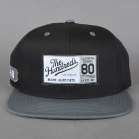 Wind Snapback Cap - Black