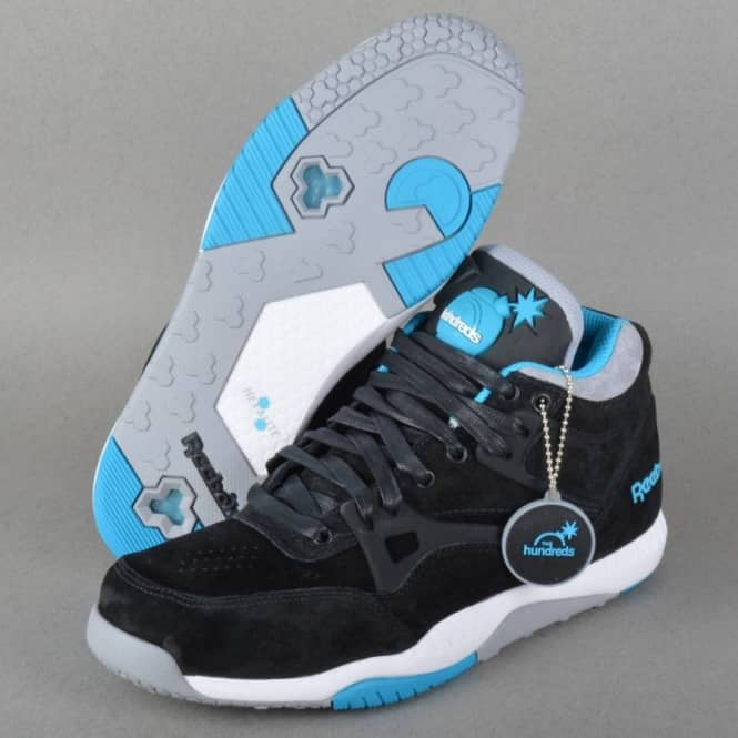 3d0b274057153 The Hundreds X Reebok Pump AXT Shoes - Black - Mens Skate Shoes from ...