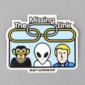 The Missing Link Skateboard Sticker - 3