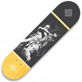 Black Prince Yellow Stain Skateboard Deck 8.5