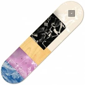 The National Skateboard Co. Boat Unstained (Mid Concave) Skateboard Deck 7.75""
