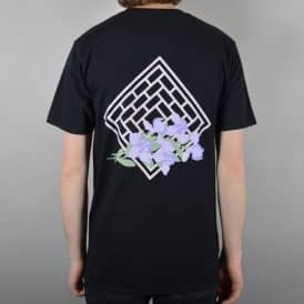 The National Skateboard Co. Iris Skate T-Shirt - Black