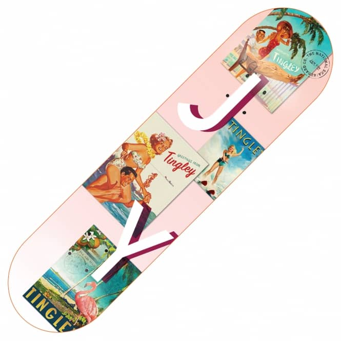 The National Skateboard Co. Josh Young Tingley Skateboard Deck 8.38