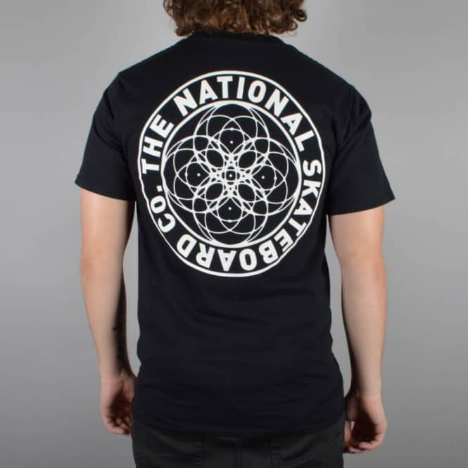The National Skateboard Co. Universal Skate T-Shirt - Black