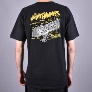 fe08ea6e The Nighthammer Grimplestix Skate T-Shirt - Black Back Print · Antihero  Skateboards ...