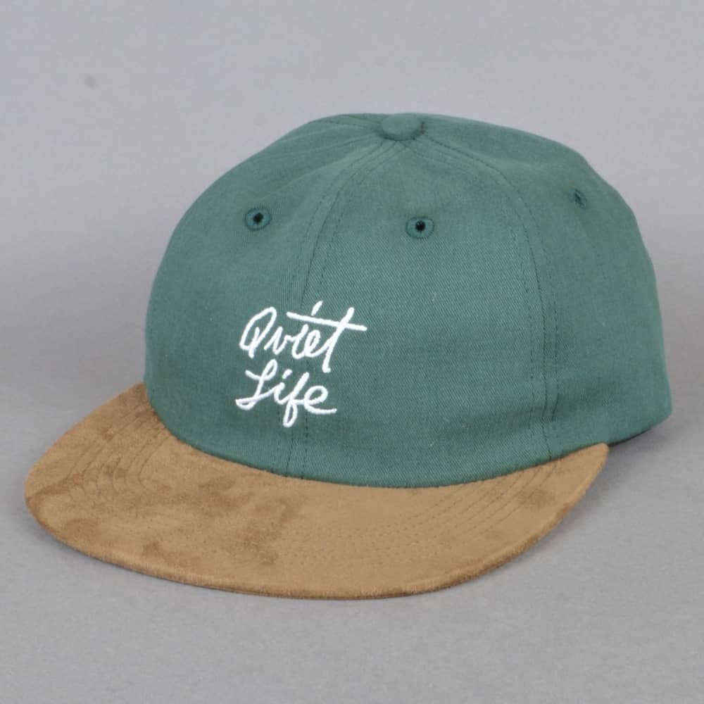 2340c4936af The Quiet Life Cursive Polo Hat - Hunter Green - SKATE CLOTHING from ...