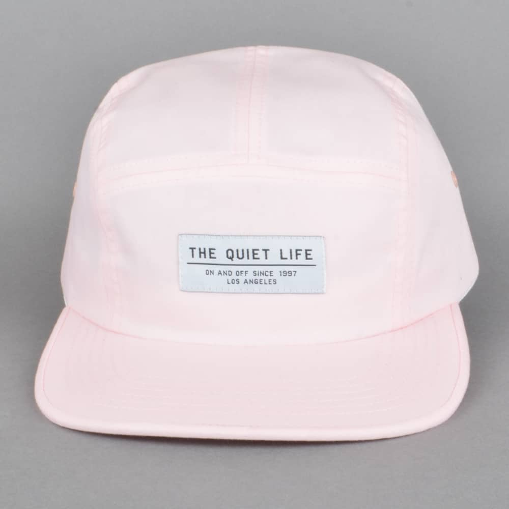 4aea397d5ba3a The Quiet Life Foundation 5 Panel Cap - Pink - SKATE CLOTHING from ...