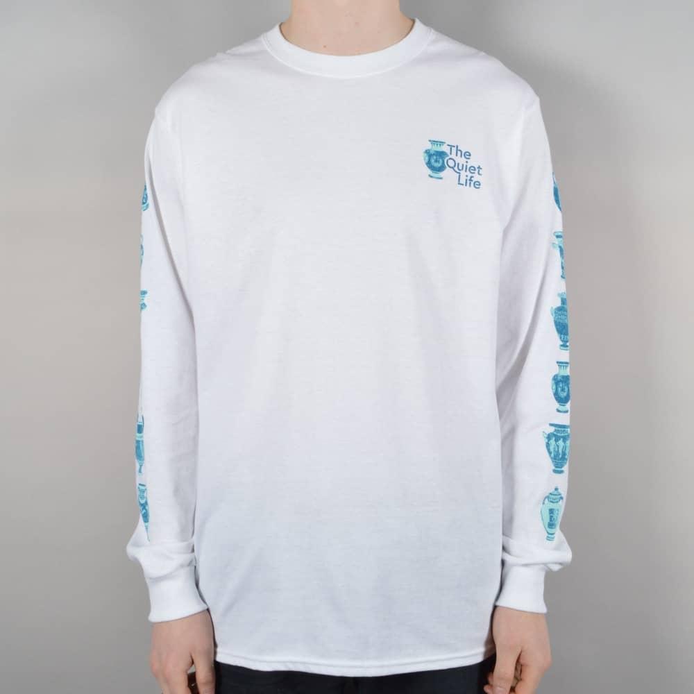 48969749 Vase Longsleeve T-Shirt - White
