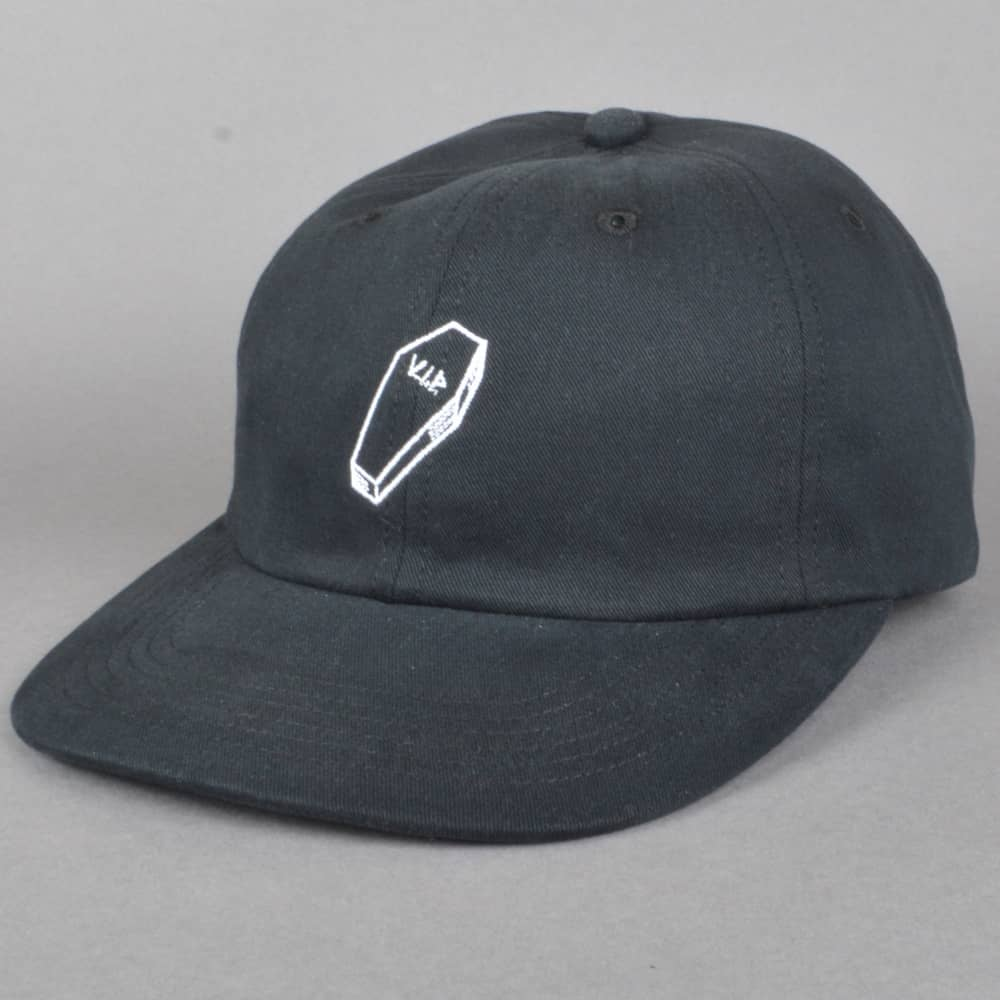 The Quiet Life VIP Polo Cap - Black - SKATE CLOTHING from Native ... 9646b4d6039