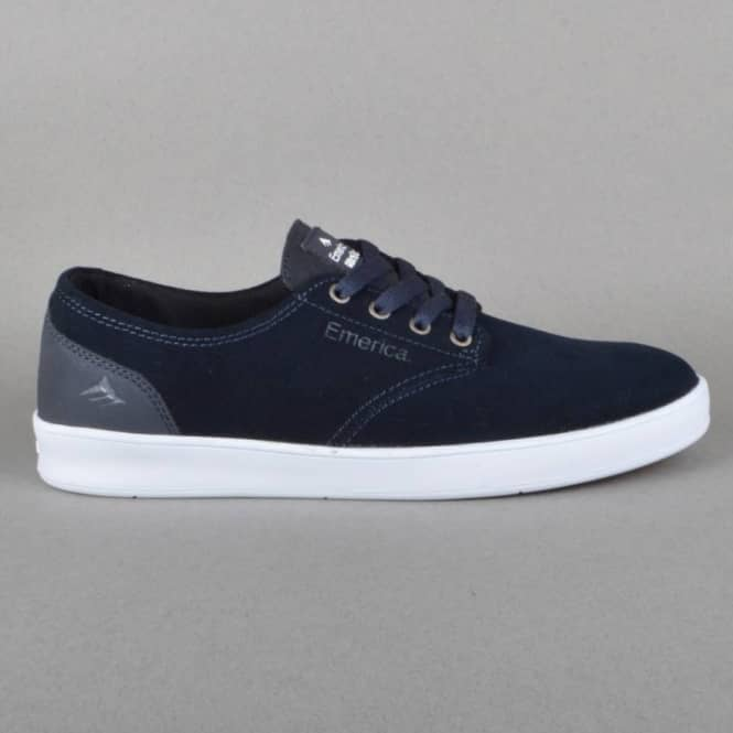 Emerica The Romero Laced Skate Shoes - Navy