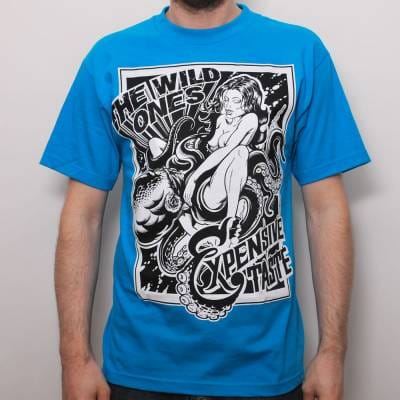 f9270532 The Wild Ones Wildly Inappropriate T-Shirt Turquoise - Skate T ...